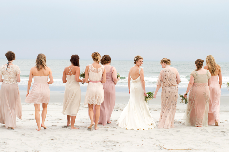 Stone harbor beach wedding